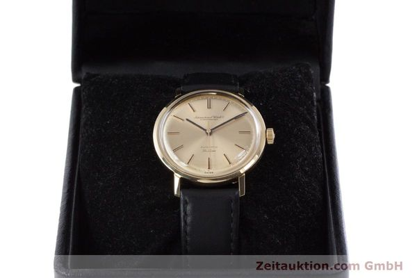 Used luxury watch IWC De Luxe 18 ct gold automatic Kal. 854 Ref. R808A VINTAGE  | 152905 07