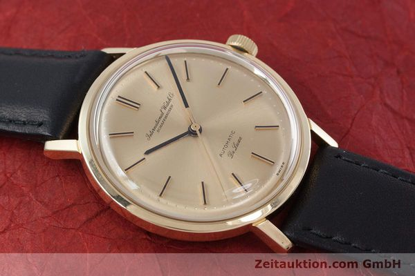 Used luxury watch IWC De Luxe 18 ct gold automatic Kal. 854 Ref. R808A VINTAGE  | 152905 13