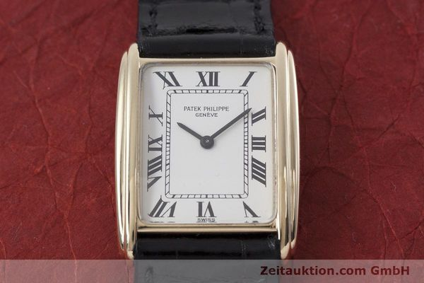 Used luxury watch Patek Philippe * 18 ct gold manual winding Kal. 16-250 Ref. 4268  | 152906 14