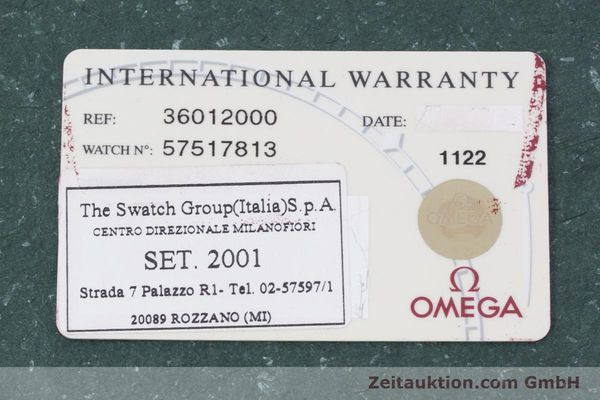 Used luxury watch Omega * 18 ct gold automatic Kal. 1108 ETA 2892A2 Ref. 36012000  | 152909 08