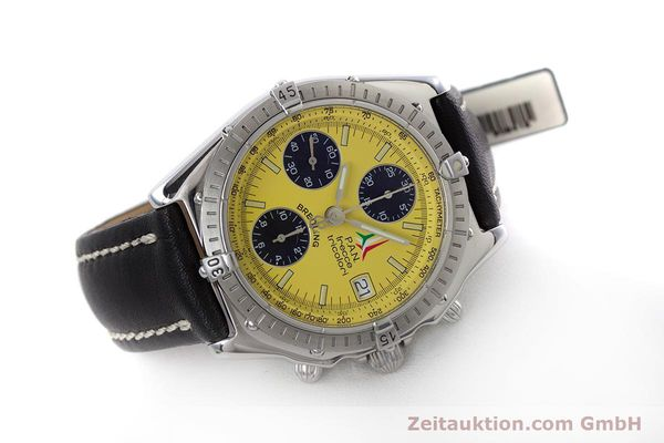 Used luxury watch Breitling Chronomat chronograph steel automatic Kal. B13 ETA 7750 Ref. A13050.1  | 152910 03