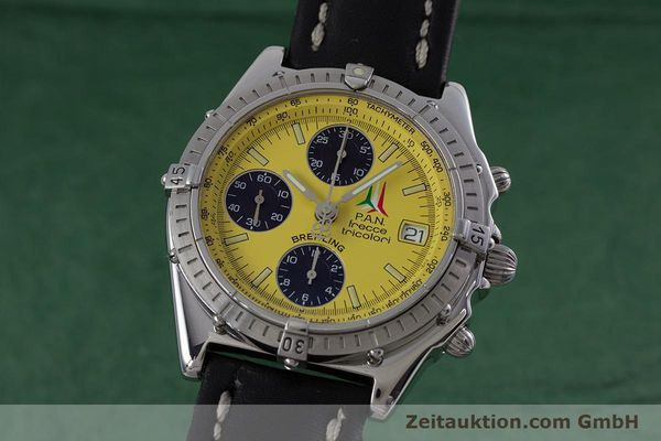 Used luxury watch Breitling Chronomat chronograph steel automatic Kal. B13 ETA 7750 Ref. A13050.1  | 152910 04