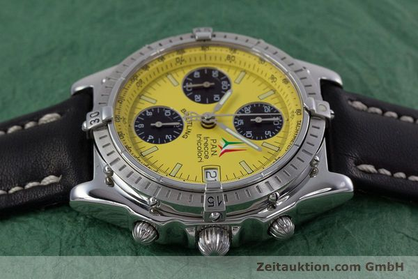 Used luxury watch Breitling Chronomat chronograph steel automatic Kal. B13 ETA 7750 Ref. A13050.1  | 152910 05