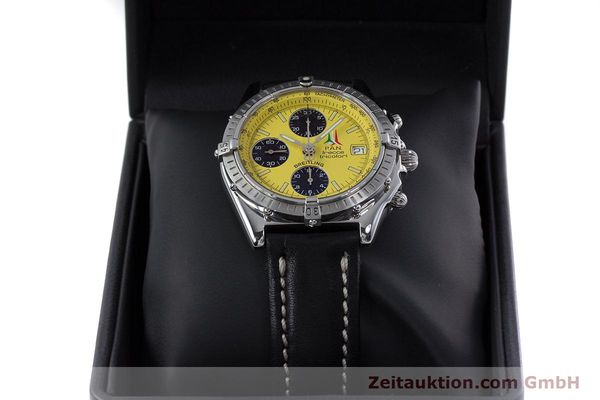Used luxury watch Breitling Chronomat chronograph steel automatic Kal. B13 ETA 7750 Ref. A13050.1  | 152910 07