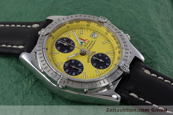 Used luxury watch Breitling Chronomat chronograph steel automatic Kal. B13 ETA 7750 Ref. A13050.1  | 152910 13