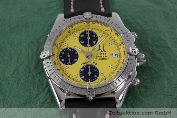 Used luxury watch Breitling Chronomat chronograph steel automatic Kal. B13 ETA 7750 Ref. A13050.1  | 152910 14