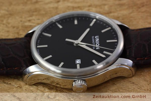 Used luxury watch Union Glashütte Viro steel automatic Kal. U2892A2 Ref. D001.407A  | 152912 05