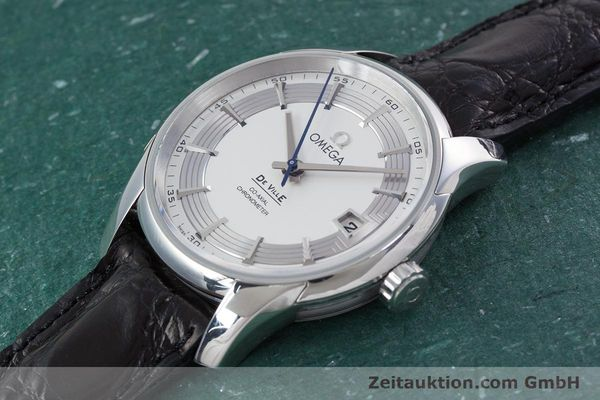 Used luxury watch Omega De Ville steel automatic Kal. 8500A Ref. 431.33.41.21.02.001  | 152921 01