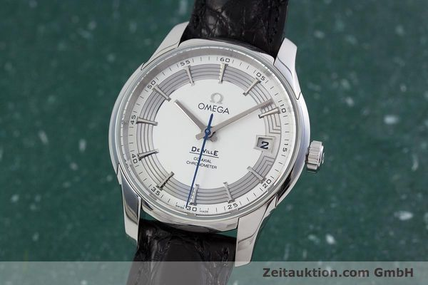 Used luxury watch Omega De Ville steel automatic Kal. 8500A Ref. 431.33.41.21.02.001  | 152921 04