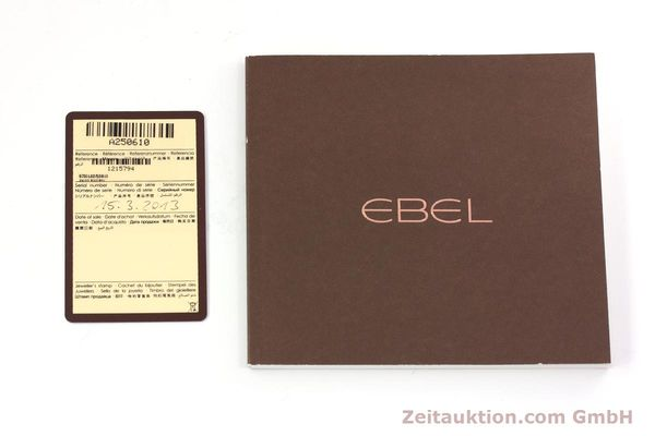 Used luxury watch Ebel 1911 chronograph steel automatic Kal. E750 ETA 7750 Ref. 9750L62  | 152926 08