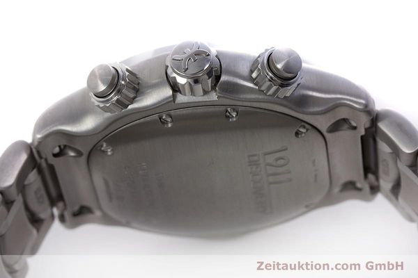 Used luxury watch Ebel 1911 chronograph steel automatic Kal. E750 ETA 7750 Ref. 9750L62  | 152926 11