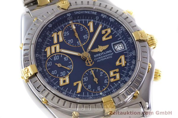 Used luxury watch Breitling Chronomat chronograph steel / gold automatic Kal. B13 ETA 7750 Ref. B13050.1  | 152935 02