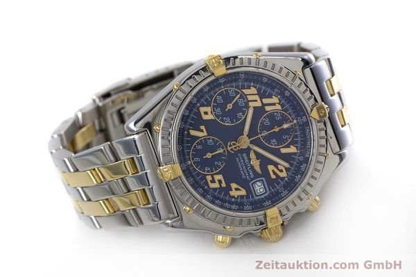Used luxury watch Breitling Chronomat chronograph steel / gold automatic Kal. B13 ETA 7750 Ref. B13050.1  | 152935 03
