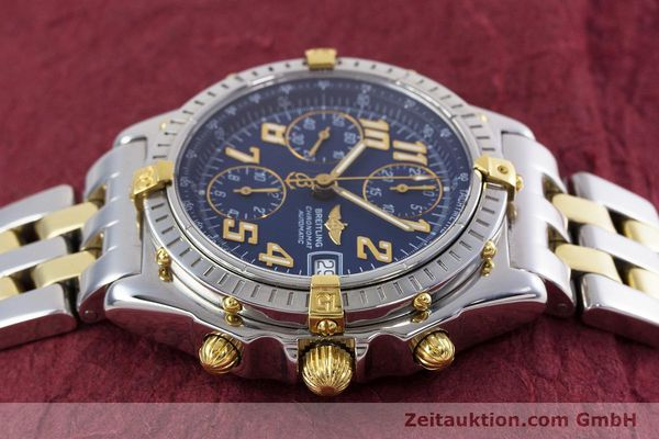 Used luxury watch Breitling Chronomat chronograph steel / gold automatic Kal. B13 ETA 7750 Ref. B13050.1  | 152935 05