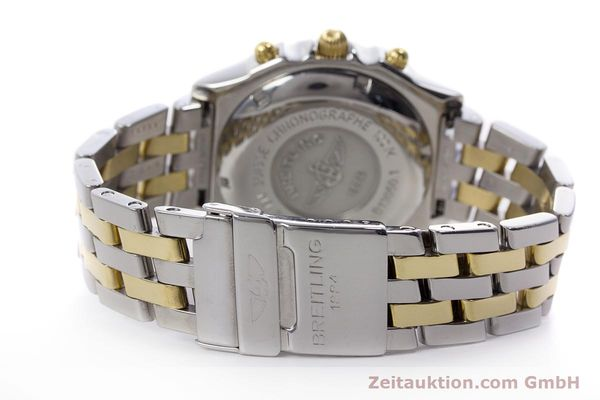 Used luxury watch Breitling Chronomat chronograph steel / gold automatic Kal. B13 ETA 7750 Ref. B13050.1  | 152935 12