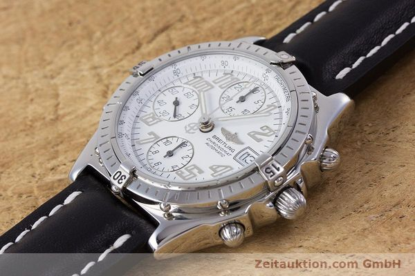 Used luxury watch Breitling Chronomat chronograph steel automatic Kal. B13 ETA 7750 Ref. A13050.1  | 152939 01