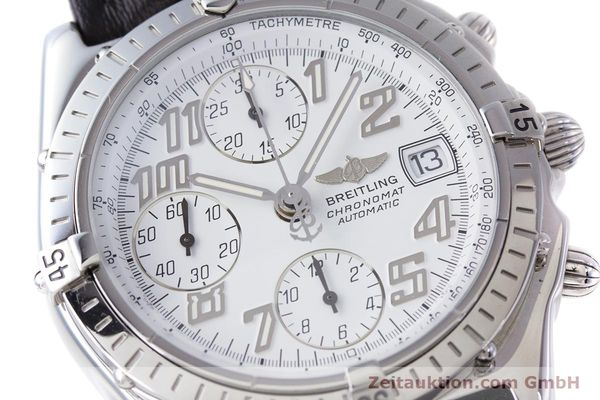 Used luxury watch Breitling Chronomat chronograph steel automatic Kal. B13 ETA 7750 Ref. A13050.1  | 152939 02