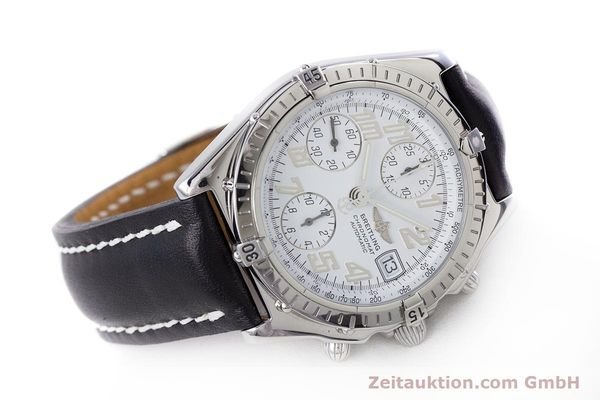 Used luxury watch Breitling Chronomat chronograph steel automatic Kal. B13 ETA 7750 Ref. A13050.1  | 152939 03