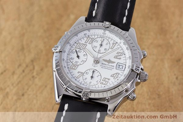 Used luxury watch Breitling Chronomat chronograph steel automatic Kal. B13 ETA 7750 Ref. A13050.1  | 152939 04