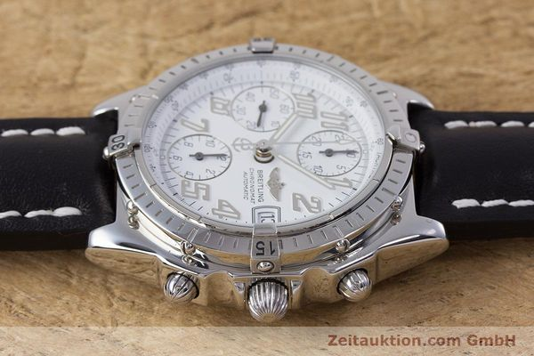 Used luxury watch Breitling Chronomat chronograph steel automatic Kal. B13 ETA 7750 Ref. A13050.1  | 152939 05
