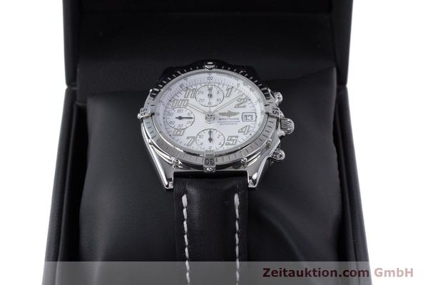 Used luxury watch Breitling Chronomat chronograph steel automatic Kal. B13 ETA 7750 Ref. A13050.1  | 152939 07