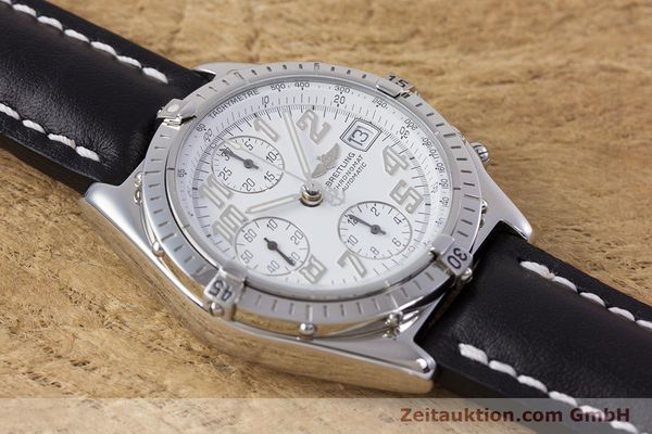 Used luxury watch Breitling Chronomat chronograph steel automatic Kal. B13 ETA 7750 Ref. A13050.1  | 152939 15