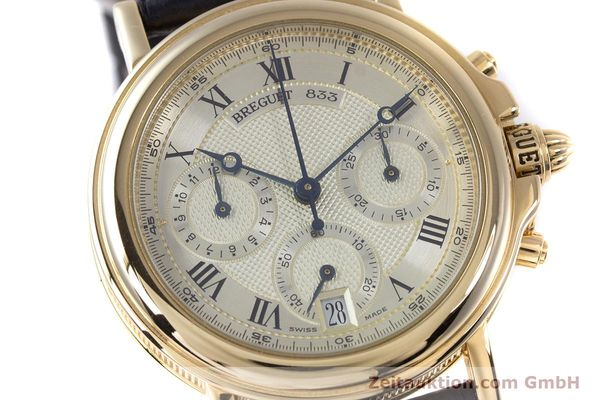 Used luxury watch Breguet Marine chronograph 18 ct gold automatic Kal. 576 Ref. 833C  | 152941 02