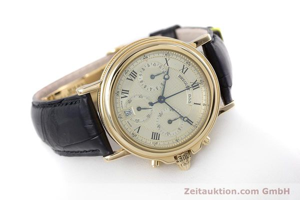 Used luxury watch Breguet Marine chronograph 18 ct gold automatic Kal. 576 Ref. 833C  | 152941 03