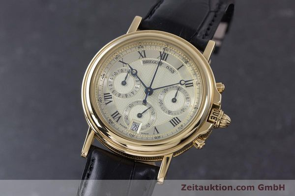 Used luxury watch Breguet Marine chronograph 18 ct gold automatic Kal. 576 Ref. 833C  | 152941 04