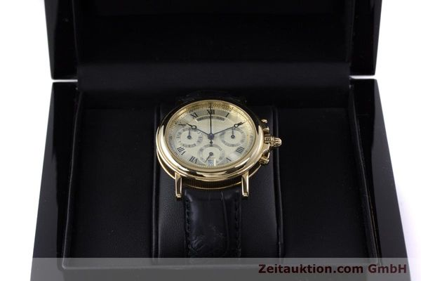 Used luxury watch Breguet Marine chronograph 18 ct gold automatic Kal. 576 Ref. 833C  | 152941 07