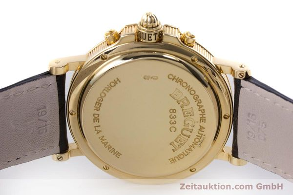Used luxury watch Breguet Marine chronograph 18 ct gold automatic Kal. 576 Ref. 833C  | 152941 08
