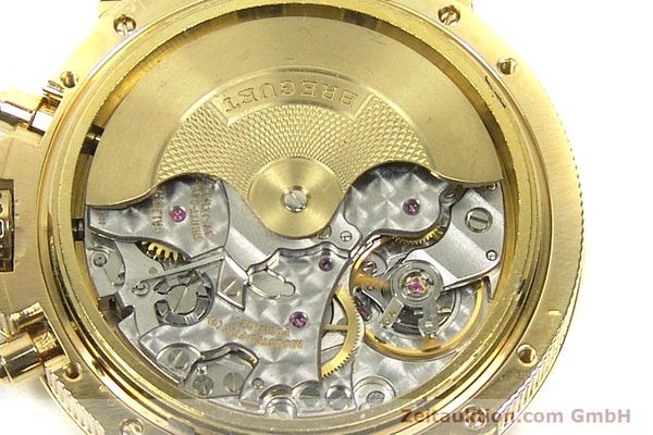 Used luxury watch Breguet Marine chronograph 18 ct gold automatic Kal. 576 Ref. 833C  | 152941 10