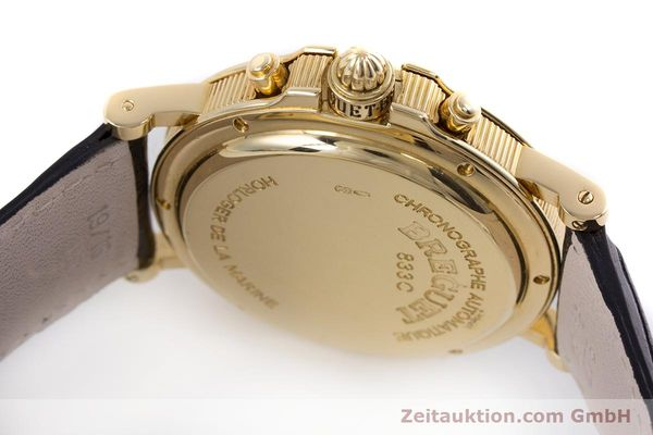 Used luxury watch Breguet Marine chronograph 18 ct gold automatic Kal. 576 Ref. 833C  | 152941 11