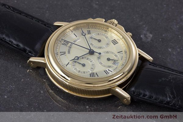 Used luxury watch Breguet Marine chronograph 18 ct gold automatic Kal. 576 Ref. 833C  | 152941 15