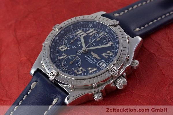 Used luxury watch Breitling Chronomat chronograph steel automatic Kal. B13 ETA 7750 Ref. A13050.1  | 152946 01
