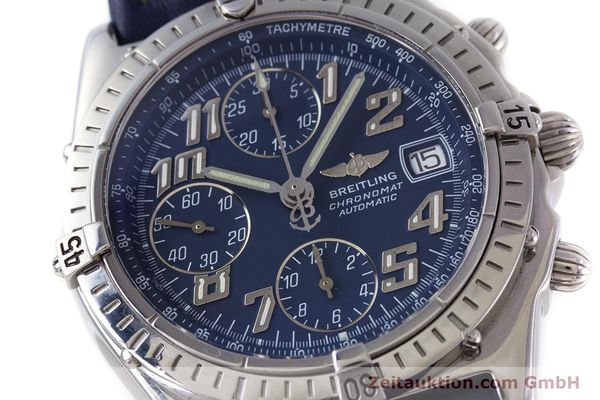 Used luxury watch Breitling Chronomat chronograph steel automatic Kal. B13 ETA 7750 Ref. A13050.1  | 152946 02