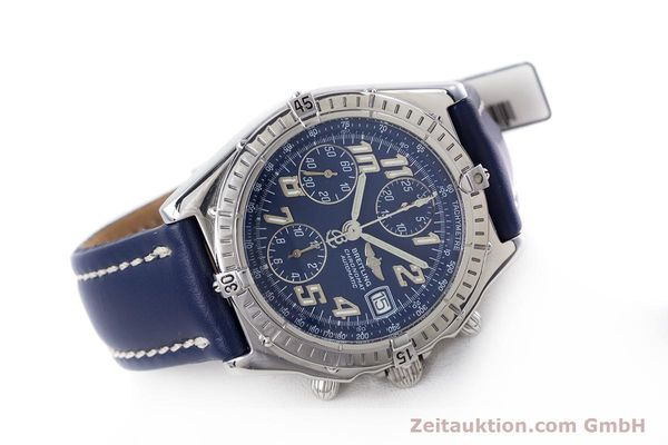 Used luxury watch Breitling Chronomat chronograph steel automatic Kal. B13 ETA 7750 Ref. A13050.1  | 152946 03