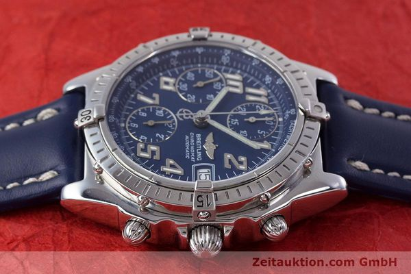 Used luxury watch Breitling Chronomat chronograph steel automatic Kal. B13 ETA 7750 Ref. A13050.1  | 152946 05