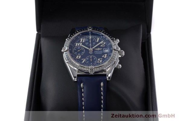 Used luxury watch Breitling Chronomat chronograph steel automatic Kal. B13 ETA 7750 Ref. A13050.1  | 152946 07
