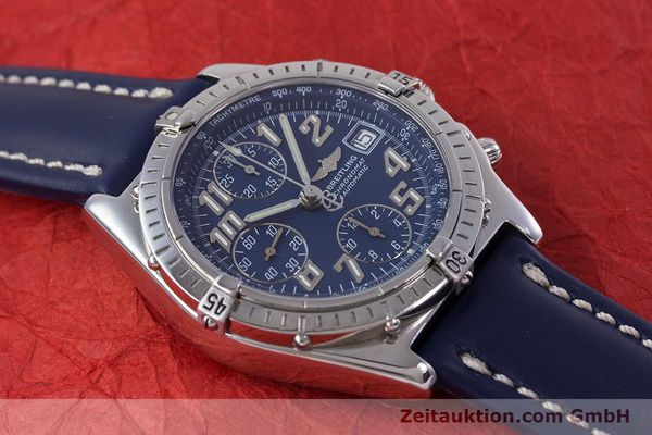Used luxury watch Breitling Chronomat chronograph steel automatic Kal. B13 ETA 7750 Ref. A13050.1  | 152946 14