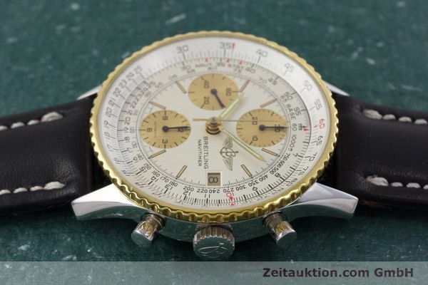 Used luxury watch Breitling Navitimer chronograph steel / gold automatic Kal. Valj.  7750 Ref. 81610  | 152947 05