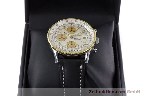 Used luxury watch Breitling Navitimer chronograph steel / gold automatic Kal. Valj.  7750 Ref. 81610  | 152947 07