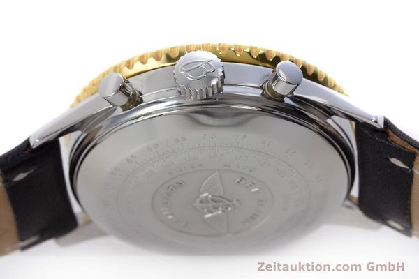 Used luxury watch Breitling Navitimer chronograph steel / gold automatic Kal. Valj.  7750 Ref. 81610  | 152947 08