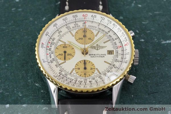 Used luxury watch Breitling Navitimer chronograph steel / gold automatic Kal. Valj.  7750 Ref. 81610  | 152947 13