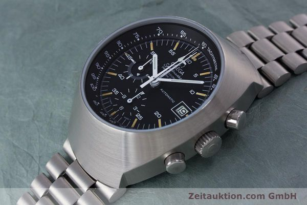 Used luxury watch Omega Speedmaster chronograph steel automatic Kal. 1040  | 152949 01