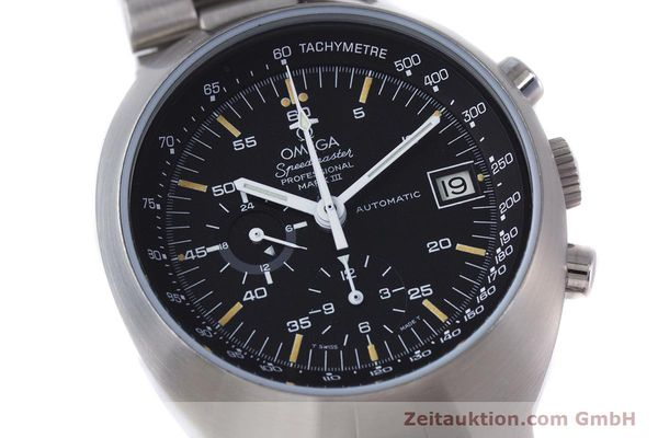 Used luxury watch Omega Speedmaster chronograph steel automatic Kal. 1040  | 152949 02