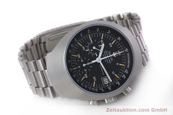 Used luxury watch Omega Speedmaster chronograph steel automatic Kal. 1040  | 152949 03