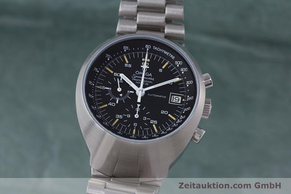 Used luxury watch Omega Speedmaster chronograph steel automatic Kal. 1040  | 152949 04