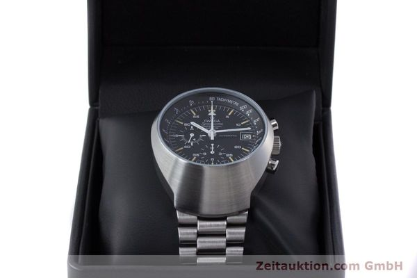 Used luxury watch Omega Speedmaster chronograph steel automatic Kal. 1040  | 152949 07
