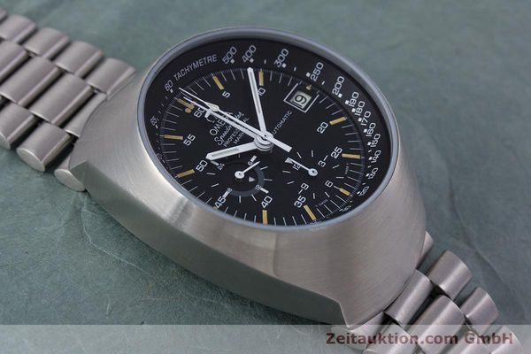 Used luxury watch Omega Speedmaster chronograph steel automatic Kal. 1040  | 152949 14